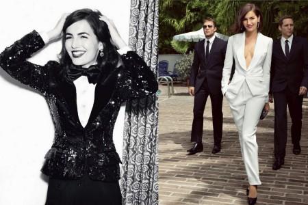 Wearing Dolce & Gabbana & Yves Saint Laurent